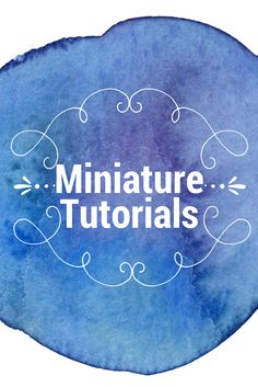 A collection of miniature tutorials, mainly scale, but some in other scales as well. Dollhouse Miniature Tutorials, Miniature Crafts, Miniature Fairy Gardens, Dollhouse Dolls, Miniature Dolls, Dollhouse Miniatures, Diy Barbie Furniture, Fairy Furniture, Minis