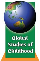 Journal/Global Studies of Childhood Christmas Bulbs, Childhood, Study, Journal, Reading, Holiday Decor, Studio, Christmas Light Bulbs, Word Reading