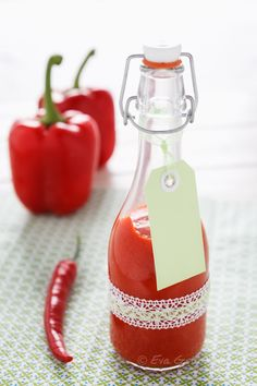 Red Pepper Ketchup | Recipe at Food Vegetarisch