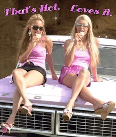 rlly like monochrome w the tank n skirt Boujee Aesthetic, Bad Girl Aesthetic, Early 2000s Fashion, 90s Fashion, Pink Fashion, Paris Hilton, 00s Mode, Paris And Nicole, Hyuna