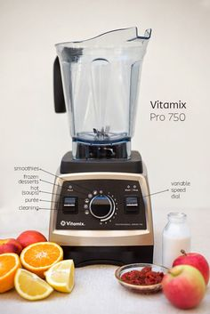 smoothie sundays falling in love with vitamix - Vitamix 750
