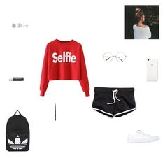 """""""selfie"""" by synclairel ❤ liked on Polyvore featuring Converse, MAC Cosmetics, Topshop, Chapstick, Winter, cute, casual and ootd"""