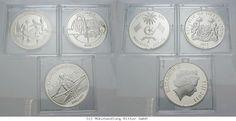 RITTER Diverse Staaten, 3 Münzen 2011-2012, Olympische Spiele London 2012, PP #coins #numismatics