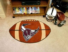 "Mesa State College Football Rug 22""x35"""
