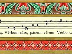 Practice your Gregorian Chant.  : )