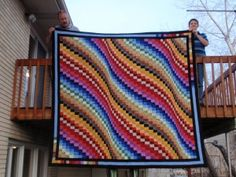 Another awesome bargello quilt