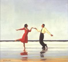 Couple Dancing On The Beach by Jack Vettriano, an unregistered record from Phillips. Registered artworks stand out as verified among the millions of unverified records in the database. Couple Painting, Couple Art, Love Couple, Love Painting, Jack Vettriano, Couples Vintage, Dance Paintings, Couple Beach, Dance Art