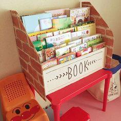 土の中にかえるくらい環境に優しいダンボール。軽量で頑丈、加工もしやすいということもあって、収納にダンボールを使っているユーザーもたくさん!収納バリエ―ションは数えきれない程ありそうですが、機能的かつアイデアのあるダンボール収納をしているユーザーの実例をピックアップ。 Cardboard Toys, Cardboard Furniture, Kids Furniture, Kids Indoor Play Area, Toddler Classroom, Diy Box, Recycled Crafts, Baby Toys, Kids Toys