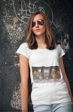 Woman Yelling at Cat Meme T-shirt Summer Clothes, Summer Outfits, Cat Memes, Cotton Tote Bags, Classic T Shirts, T Shirts For Women, Woman, Store, Cats