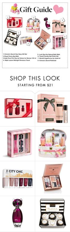 """""""Gift Guide Inspiration"""" by acgodinho ❤ liked on Polyvore featuring Victoria's Secret, Ralph Lauren, Handle, giftguide and Christmas"""