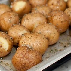 Easy toaster oven potatoes!