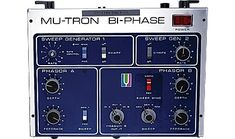 The Extremely Rare 1974-'77 Mu-Tron Bi-Phase (with optical pedal) Phaser pedal
