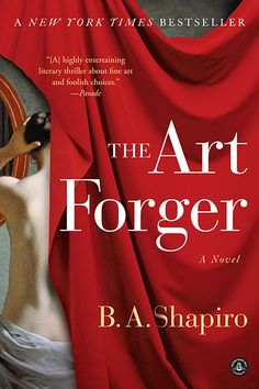 "It's an art heist! Take a peek at this informative and intriguing book trailer for ""The Art Forger"" by B. A. Shapiro, then read about this staff pick at http://blogs.jocolibrary.org/staffpicks/08/2013/martind/12664/."