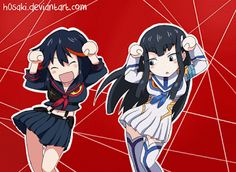 Caramelldansen Kill la Kill by - COSPLAY IS BAEEE! Tap the pin now to grab yourself some BAE Cosplay leggings and shirts! From super hero fitness leggings, super hero fitness shirts, and so much more that wil make you say YASSS! Kill La Kill Cosplay, Kill A Kill, Fanarts Anime, Anime Characters, Manga Anime, Anime Art, Gurren Laggan, Satsuki Kiryuin, Disney Marvel