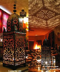 Moroccan Lanterns are a must this season! Spice up your space with a bit of cultural eclecticism. // THE STYLE NOMAD