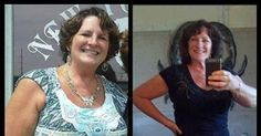 WOW, look at how much weight Sandy lost :) Her arms look so firm now ... Skinny Fiber Results and Testimonial - #MOTIVATION for weight loss over 50!