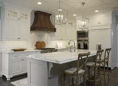 """A Well Dressed Home"" Kitchen Vent Hood #interiordesign #luxurykitchens #luxuryhomes #kitchendesign #traditionalventhoods #copperventhoods #dreamkitchen #beachsheetmetal"