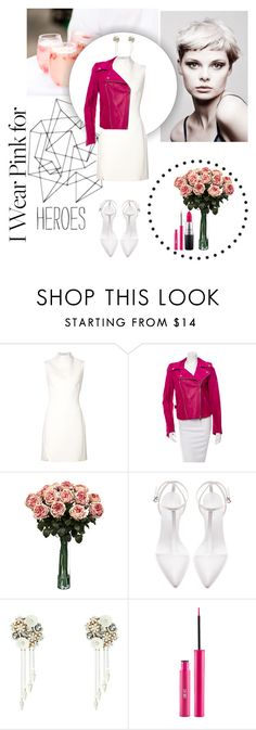 """""""Love and Heroes"""" by anettismyname ❤ liked on Polyvore featuring Angelo, Thierry Mugler, Emilio Pucci, Zara, Betsey Johnson, Sigma, MAC Cosmetics and IWearPinkFor"""