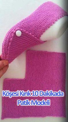 Crochet slippers chunky knit socks 33 Ideas for 2019 Loom Knitting, Knitting Stitches, Knitting Socks, Knitting Patterns Free, Free Knitting, Baby Knitting, Crochet Patterns, Knit Socks, Free Pattern