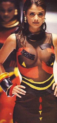Helena Christensen - Gianfranco Ferre' 1992