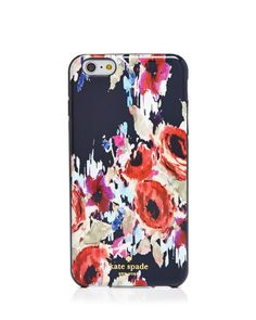 kate spade new york Resin Hazy Floral iPhone 6 Plus/6s Plus Case