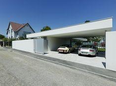 Street View Garage Summerhouse Transformed Into a Modern Elegant Residence: House A&B in Austria