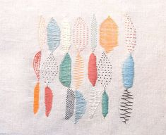 broderie - abstrait                                                                                                                                                                                 More