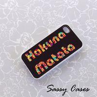 Hakuna Matata IPhone 4 IPhone 4S Ca.. on Luulla