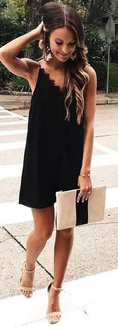 #summer #lovely #fashion | Little Black Dress