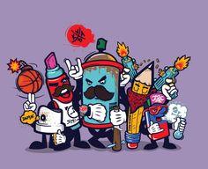 Konstantin Shalev Artista creativo, ilustrador, diseñador de juegos, diseñador de personajes, con base en Krasnodar Rusia. Presenta piezas notables y sorprendentes en vectores.  http://www.behance.net/Ripper
