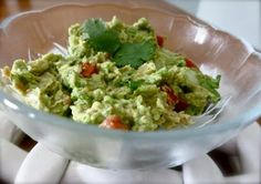 Easy Homemade Guacamole Recipe  Easy Homemade Guacamole Recipe {for 1~or 2 if you're nice}  This is really amazing!!  Ingredients 1 ripe avocado ½ tsp of lime juice 1 Tbsp diced onion 1 Tbsp diced ripened tomato {I like Romas} 1 Tbsp fresh cilantro ½ tsp garlic powder {you may use 1 garlic clove if desired!} salt/pepper as desired {you can add more if needed} Instructions Mash all ingredients together with a fork!