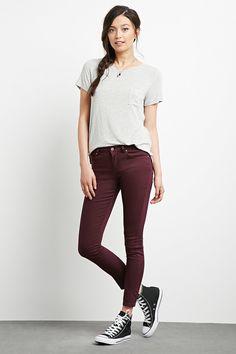 Jeans skinny | Forever 21 - 2000237907