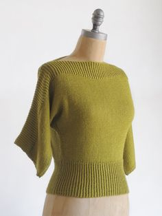 love this shape!  so classic.  #knit #pattern #sweater