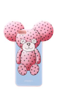 Iphoria Cotton Candy Bear iPhone 6 / 6s Case, Pink Multi, iPhone 6