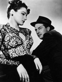 Brunette Noir: The Lost Weekend, Doris Dowling, Ray Milland, 1945