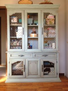 finally everything in one place, painted furniture