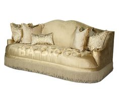 Imperial Court Tufted Sofa | Pearl by Aico