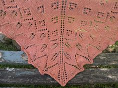 Ashton shawlette au tricot