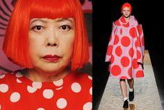 Inspired Partners - Yayoi Kusama (artist) & Comme Des Garcons (Fashion)