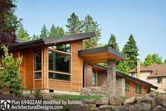 Single Story Contemporary House Plan - 69402AM thumb - 03