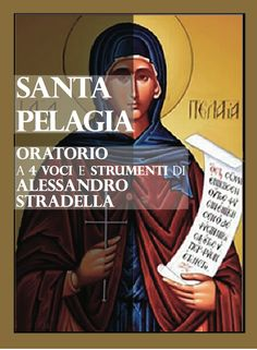 Santa Pelagia - Programma di sala