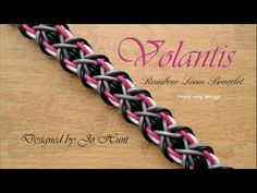 Volantis Rainbow Loom Bracelet / Hook only - YouTube