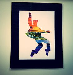 Recycled magazine art: Elvis Collage laminated by ThePaperGirl14