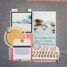 Scrapbook Layout | 12X12 Scrapbook Page | Scrapbooking Ideas | Creative Scrapbooker Magazine #scrapbooking #12X12layout