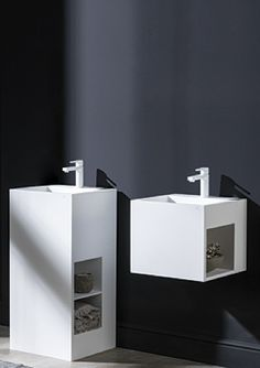 Ras sink in Krion by Systempool Porcelanosa Grupo _