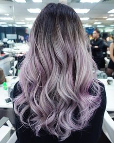 My other model for Hong Kong! Slapped some Schwarzkopf on a grown out bleach out. Hair Lights, Bad Hair, Hair Day, Lilac Hair, Hair Dye Colors, Pinterest Hair, Bleached Hair, Hair 2018, Mermaid Hair
