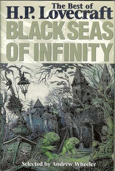 Lovecraft cover by Ian Miller, with Deep Ones
