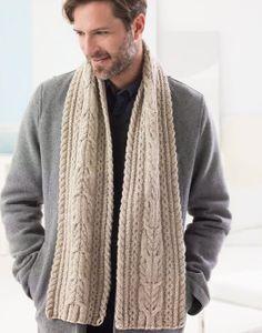 37d969dc744cc Chestnut Street Scarf (Knit) Pattern at Lion Brand Yarns (Free)