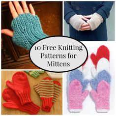 Mittens for the Whole Family | FaveCrafts.com