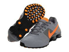 Nike Shox Deliver White/Grey/Orange